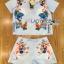 Lady Ribbon Online เสื้อผ้าออนไลน์ ขายส่งของแท้ราคาถููก LR15110716 &#x1F380 Lady Ribbon's Made &#x1F380 Lady Cara Surreal Bejewelled Printed Satin Set thumbnail 5