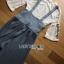 Lady Ribbon Jumpsuit ขายเซ็ตเสื้อลูกไม้ thumbnail 7
