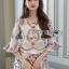 Lady Ribbon High-Waisted Shorts Set เซ็ตเสื้อทรงคร็อป thumbnail 3