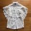 Lady Ribbon Lace and Chiffon Shirt ขายส่งเชิ้ตผ้าชีฟอง thumbnail 8