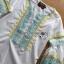 LR02290816 &#x1F380 Lady Ribbon's Made &#x1F380 Lady Cori Pastel Embroidered Ruffle-Sleeve Cotton thumbnail 6