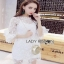 Lady Ribbon White Lace Dress thumbnail 6