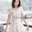 Dress เดรสผ้าทูลล์ปักลายสไตล์โมเดิร์นเฟมินีน thumbnail 4