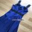 Lady Ribbon Rosie Sexy Blue Dress เดรสสีน้ำเงินสด thumbnail 6