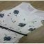ผ้าแฟชั่นพื้นสีขาวจั๊มสูทเกาหลี+เข็มขัด thumbnail 8