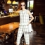 NA01010916 &#x1F389Normal Ally Present casual summer scoth set&#x1F389 (เสื้อ + กางเกง , มีซับใน) thumbnail 5