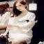 Floral White Lace Dress เรียบหรูสวยหวานด้วยเดรสทรงแขนบาน thumbnail 2