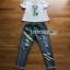 Lady Ribbon T-Shirt and Denim Set เซ็ตเสื้อยืด thumbnail 9