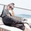 Lady Ribbon Daniella Platinum Overall Lace Jumpsuit thumbnail 1