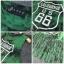 Lady Ribbon Online ขายส่งเสื้อผ้าออนไลน์ เสื้อผ้า Sevy SV10030816 &#x1F389Sevy Play Sport Green Tassel Sleeveless T-Shirt thumbnail 6