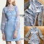 Lady Ribbon Natasha Sweet Feminine Baby Blue thumbnail 1
