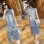 Laser-Cut Denim Shirt Dress เชิ้ตเดรสผ้าเดนิมปักและฉลุลาย thumbnail 3