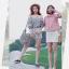 เสื้อแฟชั่นเกาหลีลายสก็อตมี 2 สี thumbnail 10