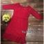 Red Lace Dress เดรสแฟชั่นผ้าลูกไม้ทั้งตัว thumbnail 3