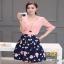 เสื้อผ้าแฟชั่นเกาหลีสวยๆชุดเซท เสื้อ+กระโปรง thumbnail 1