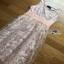 Lady Ribbon Pastel Pink Embroidered Tulle Dress thumbnail 7