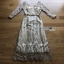 Lady Ribbon Golden Maxi Dress thumbnail 9