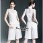 เสื้อเขนกุดลุคก์เกาหลีสีขาว thumbnail 3