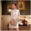 Lady Ribbon Online เสื้อผ้าออนไลน์ขายส่ง very very pretty เสื้อผ้า VP01140816 Luxury Lace White embroidery see-through Dress thumbnail 3