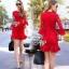เดรสลูกไม้โทนสีแดง สดใส ต้อนรับตรุษจีนนี้ thumbnail 1