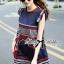 Lady Ribbon Cotton Dress เดรสผ้าคอตตอนปักลาย thumbnail 1