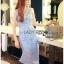 Lady Ribbon Online ขายส่งเสื้อผ้าออนไลน์เลดี้ริบบอน LR09010816 &#x1F380 Lady Ribbon's Made &#x1F380 Lady Nara Feminine Elegant Crystal Embroidered Lace Dress thumbnail 4