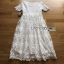 Lady Ribbon Summer Casual Basic White Lace Maxi Dress thumbnail 6