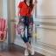 กางเกงยีนส์แฟชั่นทรงเดฟ ผ้ายีนส์เกาหลีฮ่องกง thumbnail 3