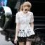 Lady Ribbon Online เสื้อผ้าออนไลน์ขายส่ง Normal Ally เสื้อผ้า NA16150816 &#x1F389Normal Ally Present elegant premium shirt and boutique pant&#x1F389 (เสื้อ + กางเกง+ เชือกคาดเอว, มีซับในอย่างดีทั้งชุด) thumbnail 4