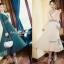 ผ้าทอลายไหมพรมเกาหลี กระโปรงอีดพีท thumbnail 1