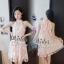 เสื้อผ้าแฟชั่นเกาหลีเดรสลุคสาวหวาน thumbnail 1