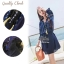 Navy Urban Cuties Vintage Dress thumbnail 1