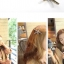 w1381 - Hair Accessories,ที่คาดผม,เครื่องประดับผม,กิ๊ปติดผม,เครื่องประดับ feather starfish hairpin thumbnail 7