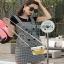 Lady Ribbon Black T-Shirt Dress Set ขายเซ็ตเสื้อยืด thumbnail 3