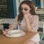 Lace Blouse เสื้อลูกไม้สไตล์โมเดิร์นวินเทจ thumbnail 3