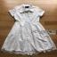 Dress with Ribbon เดรสผ้าลูกไม้สีขาวติดกระดุม thumbnail 5