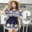 Lady Ribbon Katy Bohemian Mini Dress มินิเดรสเปิดไหล่ thumbnail 3