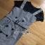 Lady Ribbon Black T-Shirt Dress Set ขายเซ็ตเสื้อยืด thumbnail 9