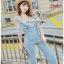 Lady Ribbon Jumpsuit Camisole ขายเซ็ตเสื้อสายเดี่ยว thumbnail 1