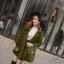 เสื้อคลุมแฟชั่นผ้าหนาป้ายเกาหลี thumbnail 3