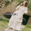Lady Ribbon Chic Ivory Lace Maxi Dress thumbnail 4