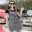 Lady Ribbon Black T-Shirt Dress Set ขายเซ็ตเสื้อยืด thumbnail 4