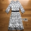 Lady Ribbon Black and White lower Embroidered Dress thumbnail 7