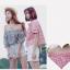 เสื้อแฟชั่นเกาหลีลายสก็อตมี 2 สี thumbnail 11