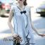 Lady Ribbon Online เสื้อผ้าออนไลน์ขายส่ง Normal Ally เสื้อผ้า NA12150816 &#x1F389Normal Ally Present pastel blue and lace summer dress&#x1F389 (เดรสผ้าสวย , ซับในต่อชายลูกไม้ค่ะ) thumbnail 2