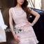 LR04290816 &#x1F380 Lady Ribbon's Made &#x1F380 Self-Portrait Petunia Panelled Midi Dress เดรสผ้าลูกไม้ thumbnail 2