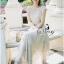 Lady Ribbon ออนไลน์ เสื้อผ้าออนไลน์ พร้อมส่งของแท้ SV02130716 &#x1F389Sevy Rising Star Knit Dress thumbnail 4