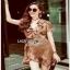 Crepe Lady Ribbon Mini Dress มินิเดรส thumbnail 2
