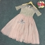 SV03310816 &#x1F389Sevy Luxury Lace Pink Gold Embroidered Dress Type: Dress Fabric: Mesh+Lace+Chiffon+Organdy thumbnail 7