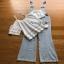 Lady Ribbon Jumpsuit Camisole ขายเซ็ตเสื้อสายเดี่ยว thumbnail 6